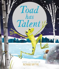 Toad Has Talent book