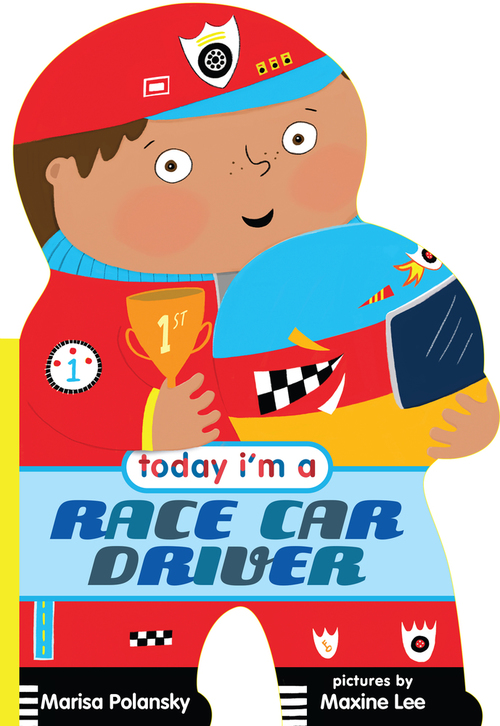 Today I'm a Racecar Driver book