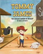 Tommy James the Littlest Cowboy in Reckon book