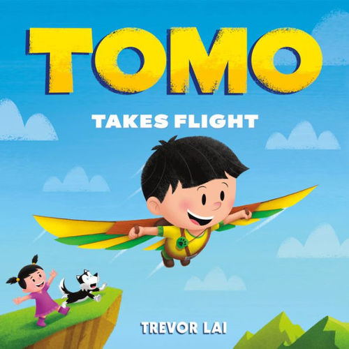 Tomo Takes Flight book