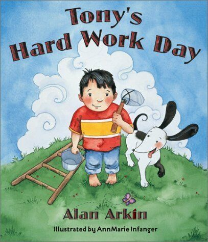 Tony's Hard Work Day book