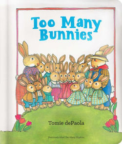 Too Many Bunnies book
