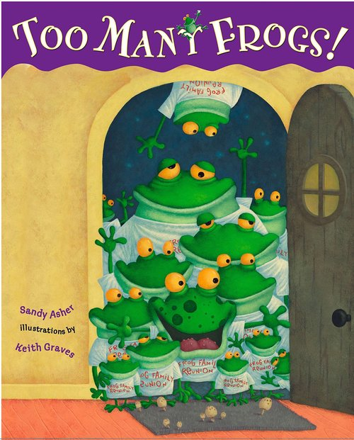 Too Many Frogs! Book