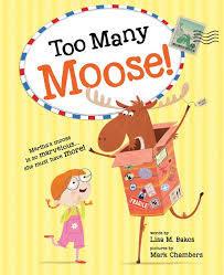 Too Many Moose Book