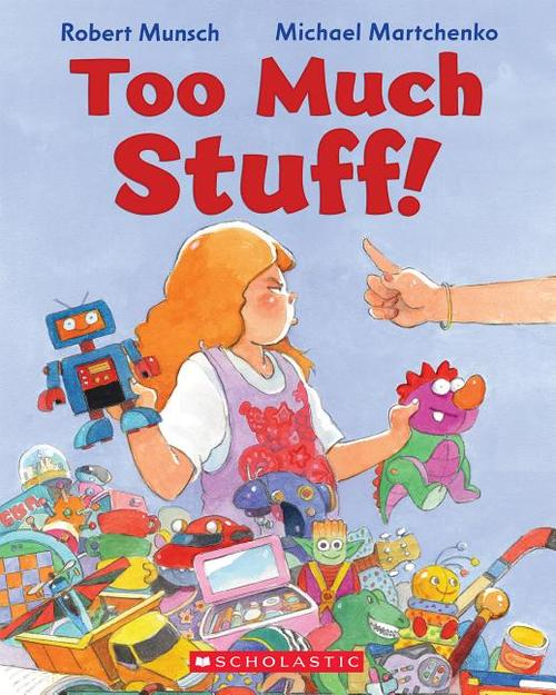 Too Much Stuff! book