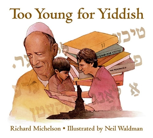 Too Young for Yiddish book