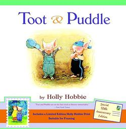Toot & Puddle [With Limited Edition Holly Hobbie Print] book