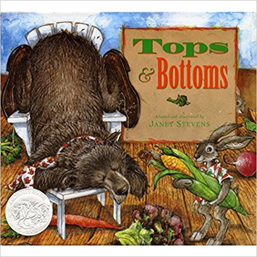 Tops and Bottoms book