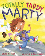 Totally Tardy Marty book