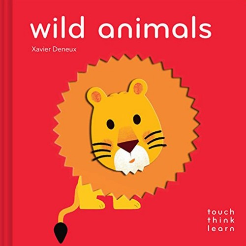 TouchThinkLearn: Wild Animals book