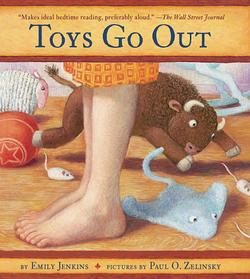 Toys Go Out: Being the Adventures of a Knowledgeable Stingray, a Toughy Little Buffalo, and Someone Called Plastic book