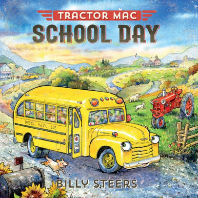 Tractor Mac School Day book