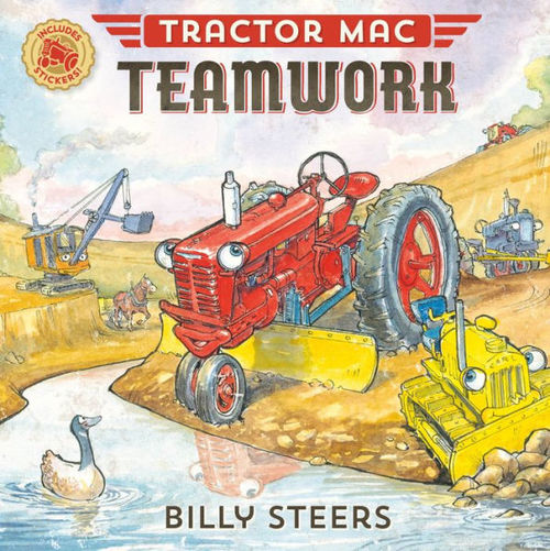 Tractor Mac Teamwork book