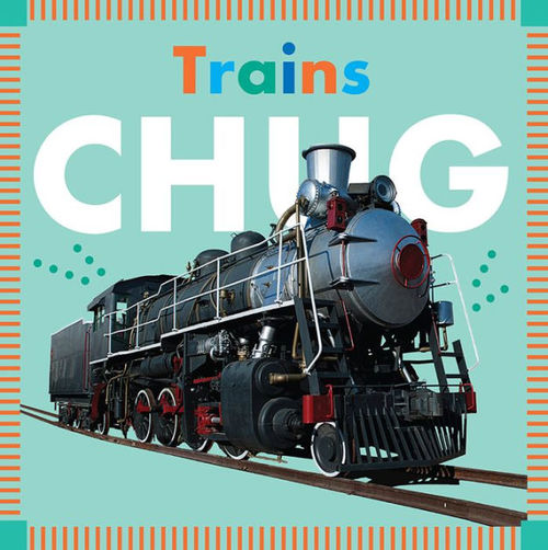 Trains Chug book