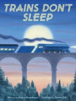 Trains Don't Sleep book