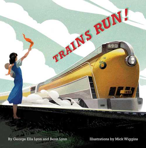 Trains Run! book