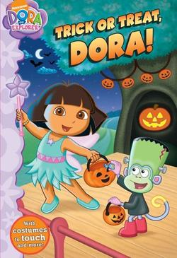 Trick or Treat, Dora! book
