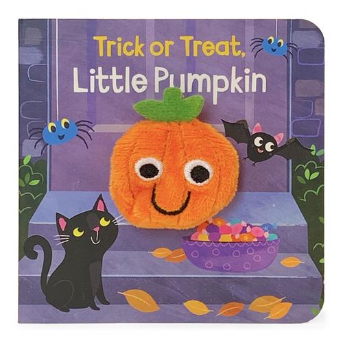 Trick or Treat Little Pumpkin book