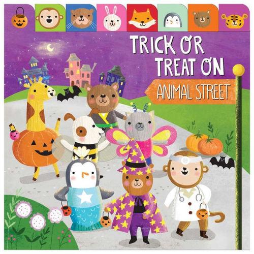 Trick or Treat on Animal Street book