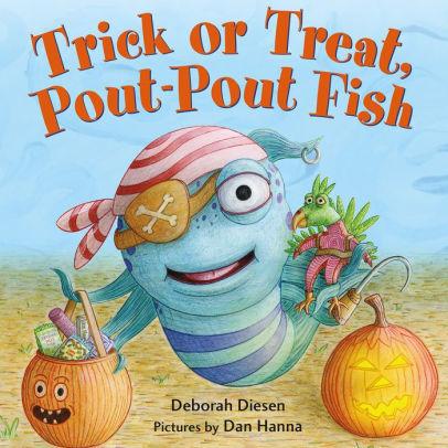 Trick or Treat, Pout Pout Fish book