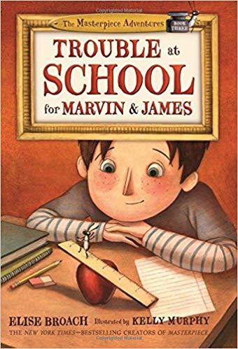 Trouble at School for Marvin & James book