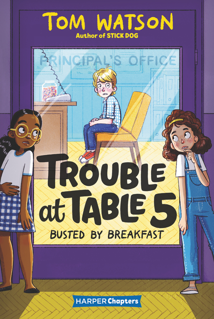 Trouble at Table 5: Busted by Breakfast book