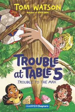 Trouble at Table 5 book