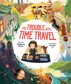 Trouble with Time Travel book