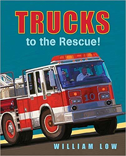 Trucks to the Rescue! book