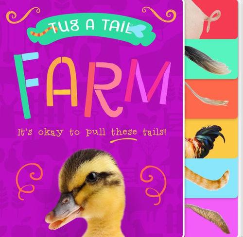 Tug a Tail Farm Animals book