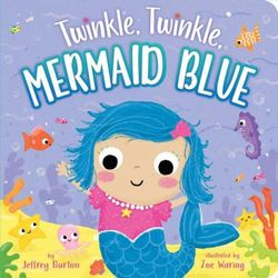 Twinkle, Twinkle, Mermaid Blue book