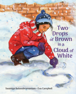 Two Drops of Brown in a Cloud of White book