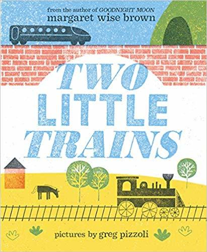 Two Little Trains book