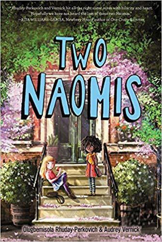 Two Naomis book
