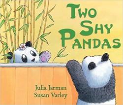 Two Shy Pandas book