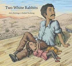 Two White Rabbits book
