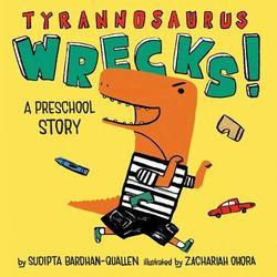 Tyrannosaurus Wrecks! book