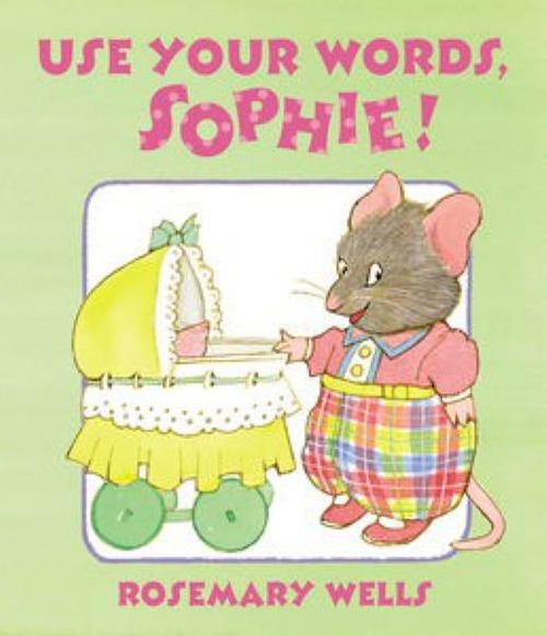 Use Your Words, Sophie book