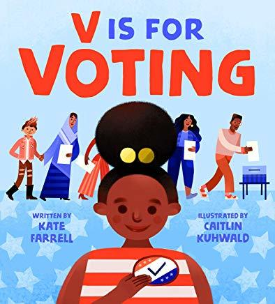 V Is for Voting book