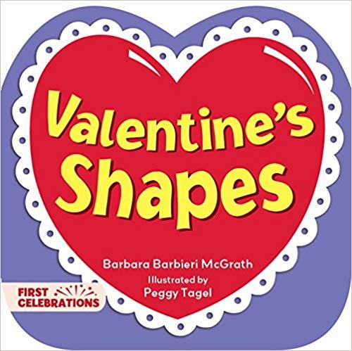 Valentine's Shapes book