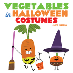 Vegetables in Halloween Costumes book