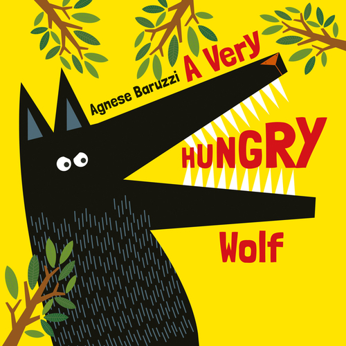 Very Hungry Wolf book