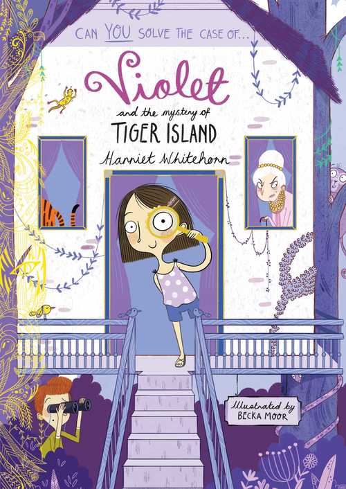 Violet And The Mystery Of Tiger Island Book