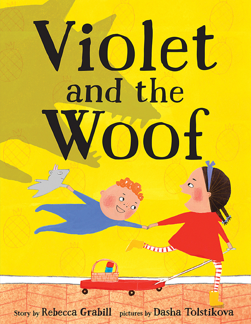 Violet and the Woof book