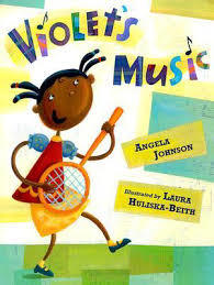 Violet's Music book