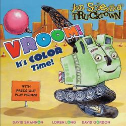 Vroom!: It's Color Time! book