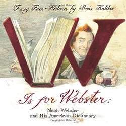 W is for Webster book