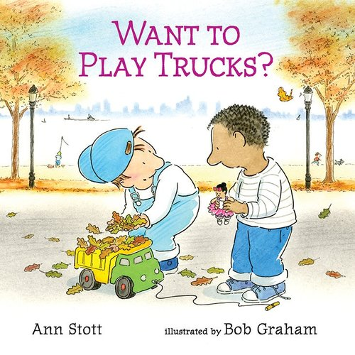 Want to Play Trucks? book