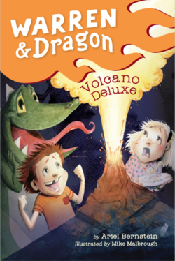 Warren & Dragon Volcano Deluxe book