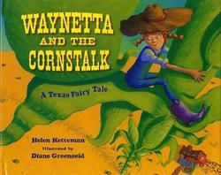 Waynetta and the Cornstalk book